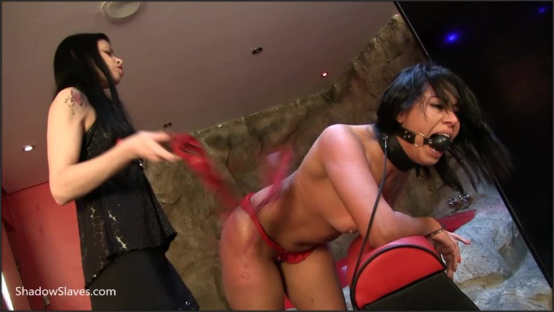 Slavegirl Sara & Mistress Karina - Saras Suffering - Shadowslaves - HD/MP4 - image1