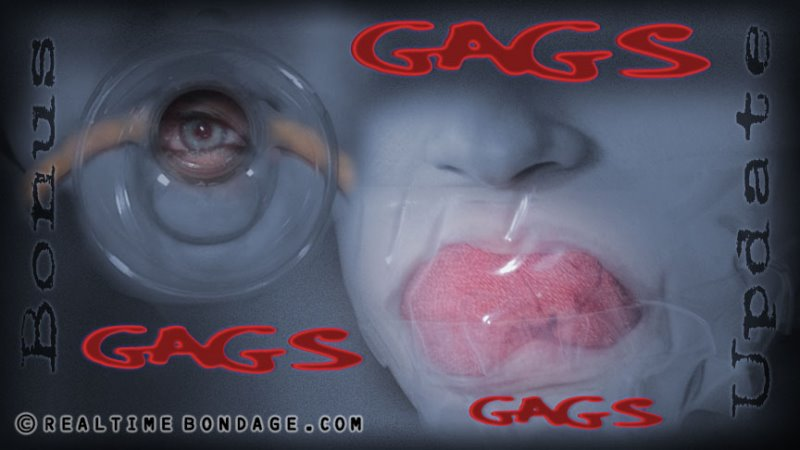 Gags, Gags, Gags - realtimebondage - HD/MP4 - image1
