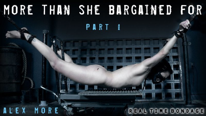 More Than She Bargained For Part 1 - realtimebondage - SD/MP4 - image1