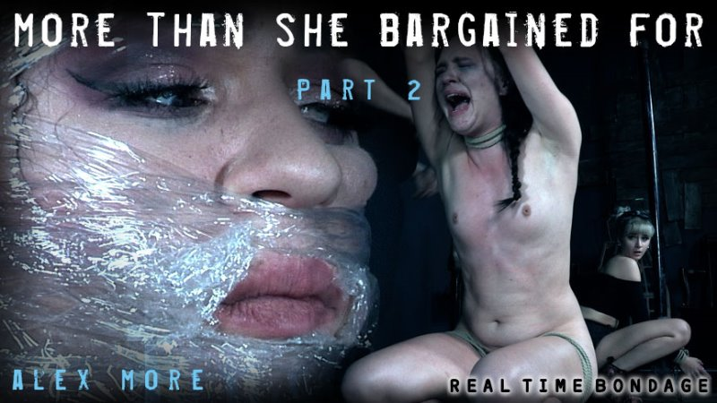 More Than She Bargained For Part 2 - realtimebondage - HD/MP4 - image1