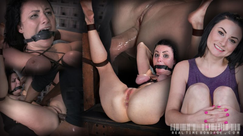 Pale stunner Veruca James bound with belts, gagged and assfucked without mercy by BBC! - realtimebondage - HD/MP4 - image1