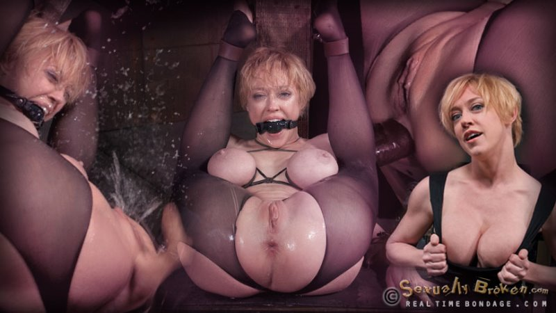 Hardcore anal fucking with BBC, multiple squirting orgasms, flexible big breasted Darling destroyed! - realtimebondage - HD/MP4 - image1